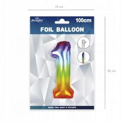 Obrus na urodziny roczek - niebieski