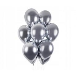 STICKERSY Naklejki CYFRY srebrny