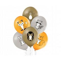 Okulary serduszka róż