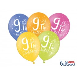 Balony Urodzinowe 9th
