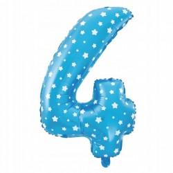 Balon Foliowy  Cyferka złota 0