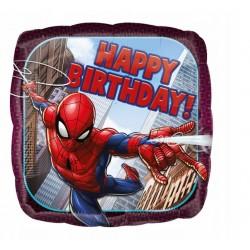 Balony niebieskie w chmurki białe