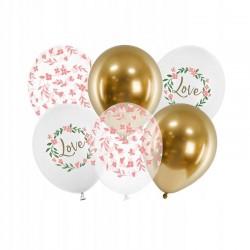 Konfetti TUBA 60 cm Złote Konfetti