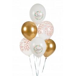 Konfetti TUBA 60 cm Czerwone Płatki