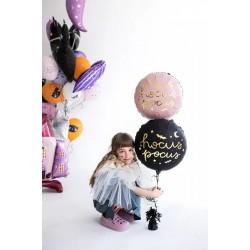 Konfetti TUBA 60 cm Konfetti Srebrne + Białe Serca