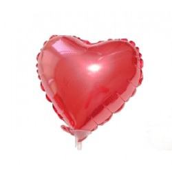 Balon Foliowy Serca Czerwone