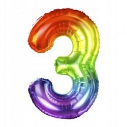 """Balon Foliowy Smiley Wink 9""""-3"""