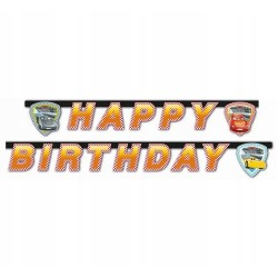 Baner Happy Birthday Cars 3 samochody