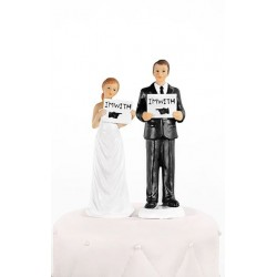 Figurka na tort weselny FW 4