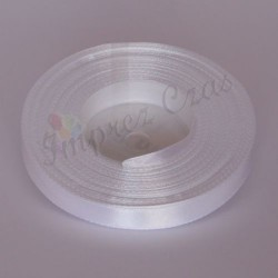 Tasiemki satynowe 12mm. 8002 - biały