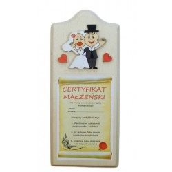 Certyfikat małżeński