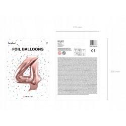 W kolorze różowym, białym i zielonym  Długość 3,6 metra.