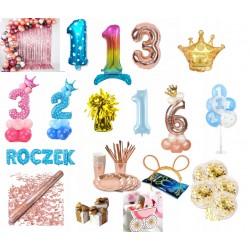 Balony Urodzinowe Roczek