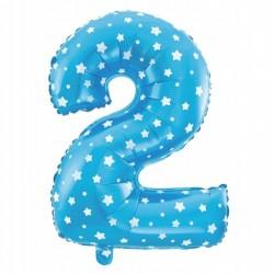 Balon Foliowy  Cyferka złota 4