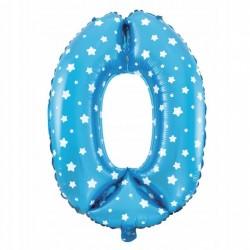 Balon Foliowy  Cyferka złota 6