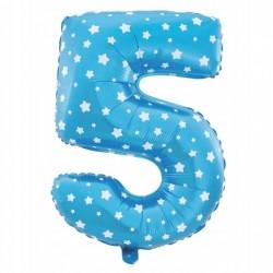 Balon Foliowy  Cyferka złota 9