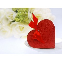 Pudełeczka serca czerwone