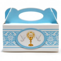 Samoskładające  pudełka na ciasto komunia5