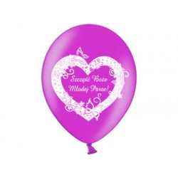 Balony na ślub wesele 7
