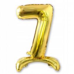 Tasiemki satynowe 25mm. 8016 - złoty