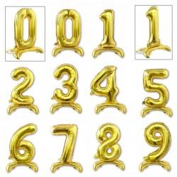 Tasiemki satynowe 25mm. 8018 - pomarańczowo złoty