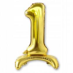 Tasiemki satynowe 25mm. 8135 - gorzka czekolada