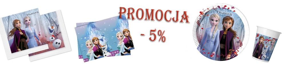 Promocja -5% Kraina Lodu